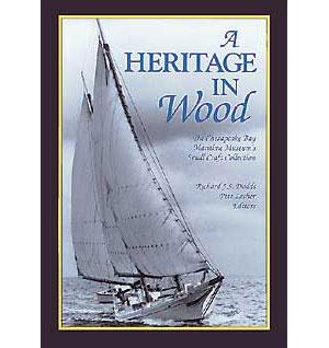 BOOK COVER: A Heritage in Wood
