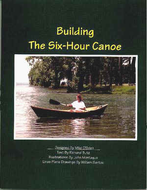 BOOK COVER: Building The Six-Hour Canoe