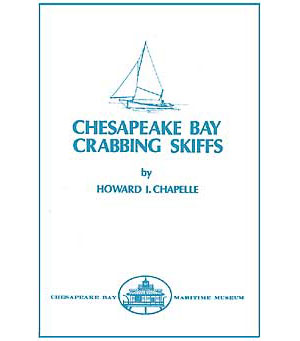 BOOK COVER: Chesapeake Bay Crabbing Skiffs