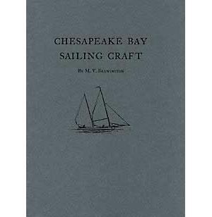 BOOK COVER: Chesapeake Bay Sailing Craft